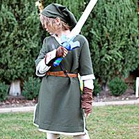 Home made Link costume