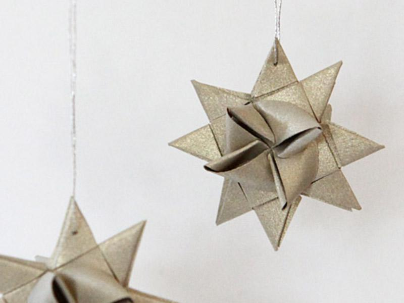 German star ornaments