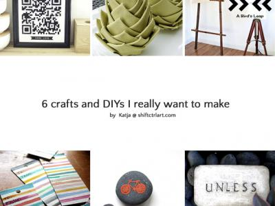 Great finds: 6 crafts and DIYs I want to do!