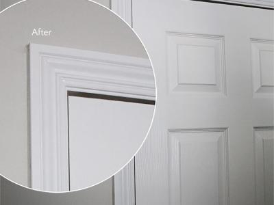 How to: fix a sagging door. See how easy it is.