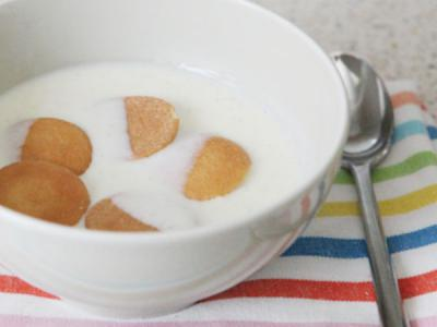 Buttermilk 'cold bowl' dessert - 1 of 3 easy desserts to make with my vanilla egg base