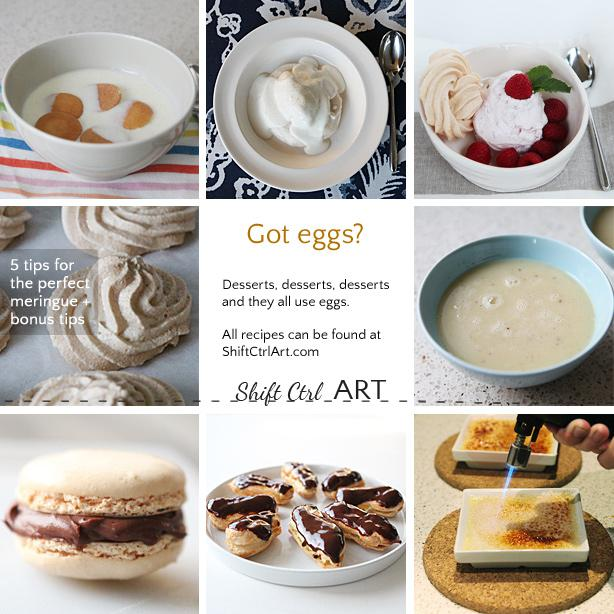Dessert week - Got Eggs? - 6 fabulous desserts - all in one place