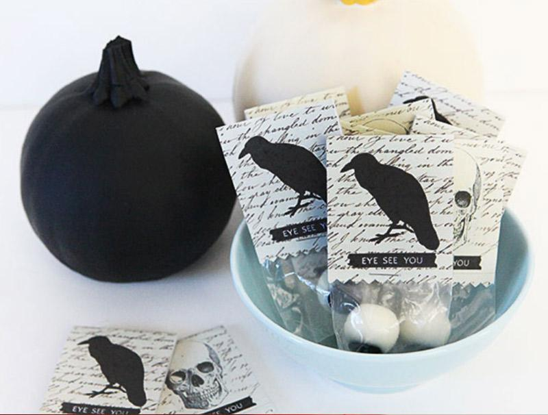 Put the trick back in Trick or Treat - candy free party favor