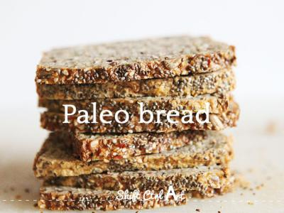 Paleo bread - grain and gluten free