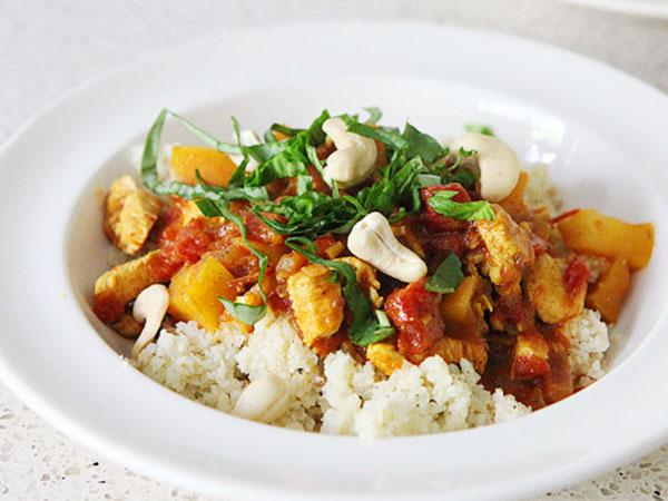 Thai curry cashew chicken casserole - paleo