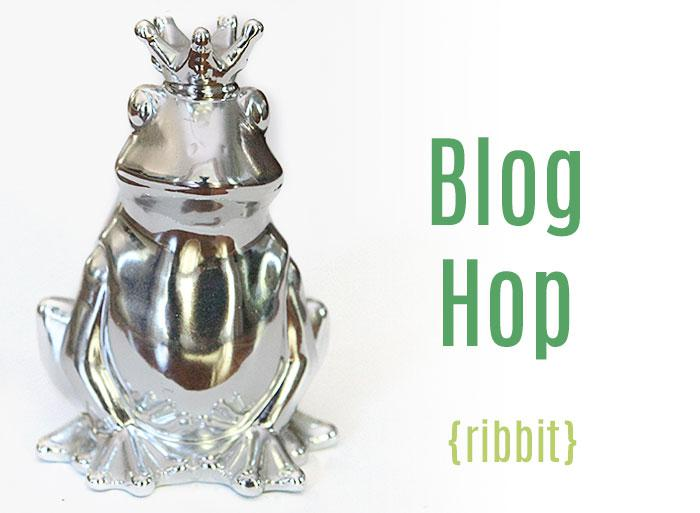 Blog hop - ribbit