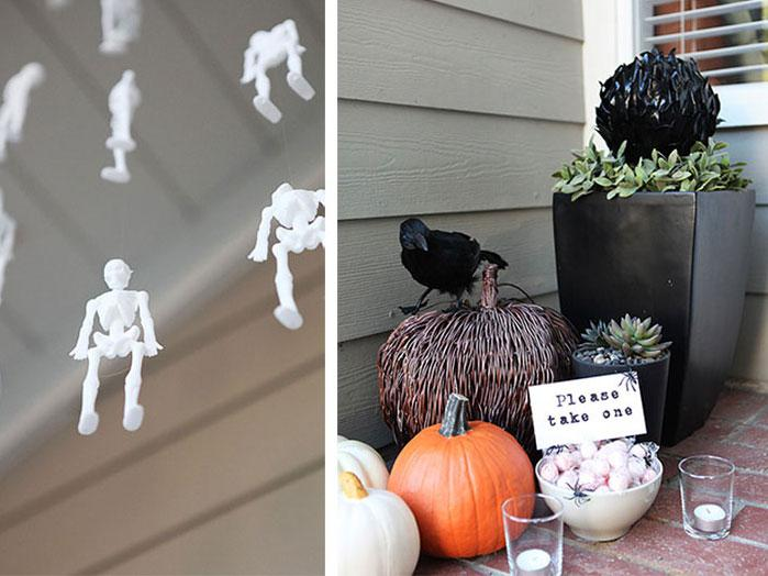 5 Halloween ideas for the front door