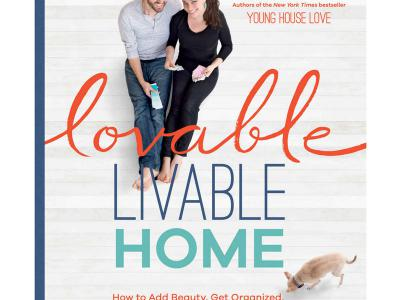 We were published in Lovable Livable Home by Young House Love - a New York Times Bestseller