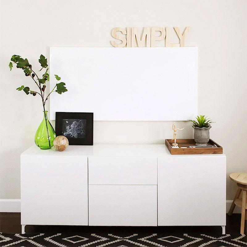 home office dry erase whiteboard wall