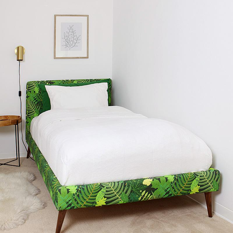 IKEA transformation: How to DIY an upholstered bedframe